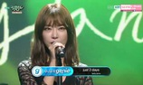 "Music Bank: ""Bucket List"" - Go Na Young"