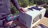 Video trình diễn về chiếc đàn lò vi sóng của Victor Kucher