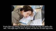 Ngủ trưa quá lâu sẽ gây hại cho sức khỏe