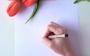 Học cách vẽ hoa tulip trong chưa đầy 1 phút