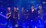 "Inkigayo: ""Monster"" - EXO"