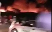 Cháy lớn tại cụm công nghiệp ở Hải Phòng