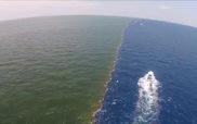 """Hiện tượng """"mặt biển chia đôi"""" tại Mississippi (Mỹ)"""