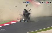 Tai nạn kinh hoàng tại giải đua F3