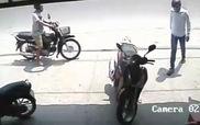 Mất trộm SH dù để xe chỉ sau lưng một mét