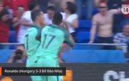 6 bàn thắng đẹp nhất vòng bảng Euro 2016