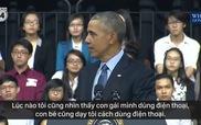 Tổng thống Obama nhắc đến ca sĩ Sơn Tùng MTP trong bài nói chuyện của mình