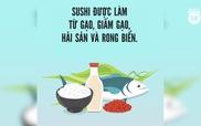 5 sự thật thú vị mà ai cũng nên biết về sushi