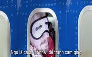 """Bí quyết ngủ trên máy bay """"ngon như ở nhà"""""""