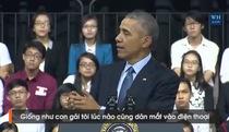 Tổng thống Obama nhắc về Sơn Tùng M-TP trong buổi trò chuyện