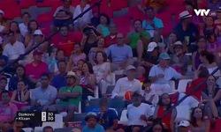 Vòng 1 Acalpuco Open 2017: Martin Klizan 0-2 Novak Djokovic (3/6, 6/7)