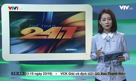 Thể thao 24/7 - 23/10/2016
