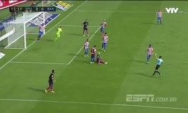 VIDEO, Sporting Gijon 0-5 Barcelona: Không Messi, không vấn đề!