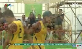 Bóng chuyền bãi biển nam: Những pha bóng ấn tượng trận Việt Nam vs Qatar