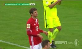Vòng 2 cúp Quốc gia Đức: Bayern Munich 3-1 Augsburg