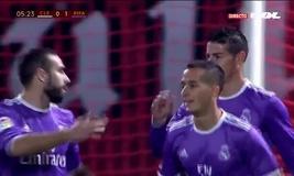 Vòng 1/16 Cúp Nhà Vua Tây Ban Nha: Cultural Loenesa 1-7 Real Madrid
