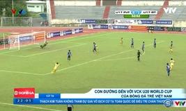 Con đường đến với World Cup U20 của bóng đá trẻ Việt Nam