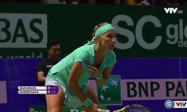 Bảng trắng WTA Finals 2016: Muguruza 2-1 Kuznetsova (3/6, 6/0, 6/1)