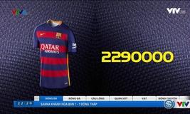 CLB bán áo đấu nhiều nhất mùa giải 2015-2016