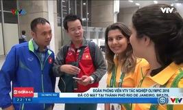 Phóng viên Thể thao VTV có mặt tại Brazil