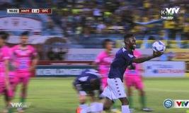 Phút 90: Hoàng Vũ Samson nâng tỉ số lên 2-0 cho Hà Nội T&T