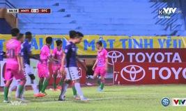 Tổng hợp trận đấu Hà Nội T&T 2-0 Đồng Tháp (Vòng 18 V.League 2016)