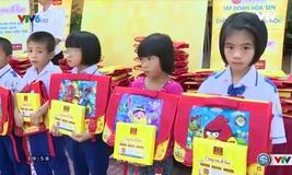 """Chương trình """"Cùng em đi học"""" tại Nghệ An"""