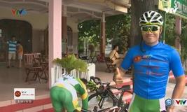 Đồng hành giải đua xe đạp quốc tế VTV Cup Tôn Hoa Sen (25/8/2016)