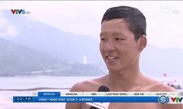 ABG 2016: VĐV Trần Tấn Triệu giành HCĐ tại môn bơi đường dài