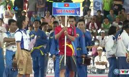 VIDEO bài biểu diễn Đa luyện vũ khí nam của ĐT Vovinam Việt Nam