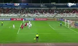 U19 Bahrain đánh đầu nguy hiểm