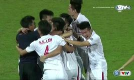 VIDEO ĐT U19 Việt Nam ăn mừng chiến thắng trước U19 Bahrain