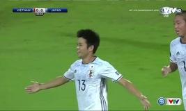 U19 Nhật Bản mở tỉ số trận đấu