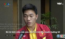 Lương Xuân Trường trả lời phỏng vấn bằng tiếng Anh