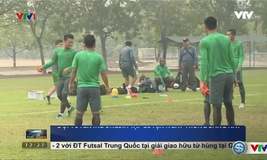 ĐT Indonesia có buổi tập đầu tiên tại Việt Nam