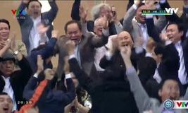 Minh Tuấn nâng tỉ số lên 2-1 cho ĐT Việt Nam