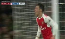 VIDEO Tổng hợp trận đấu Arsenal 3-1 Stoke City