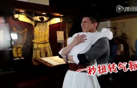 Ngô Kỳ Long, Lưu Thi Thi hài hước trong hậu trường