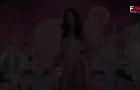 Thiên thần Lily Aldridge cực quyến rũ khi thử nội y mới của Victoria's Secret