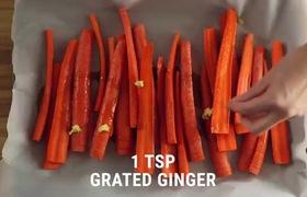 Cà rốt nướng giòn tan siêu ngon kiểu Châu Âu