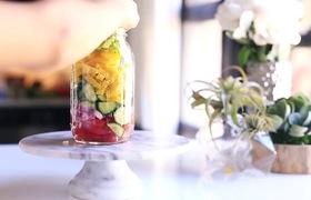 7 món salad trong lọ thuỷ tinh ngon mà không lo chất béo
