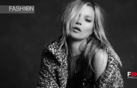 Kate Moss vô cùng quyến rũ trong clip quảng cáo thời trang