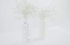 Cách đơn giản biến lọ thủy tinh cũ thành bình cắm hoa độc đáo