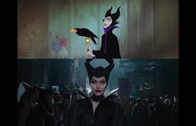"""Trailer kết hợp giữa hoạt hình và """"Maleficent"""""""