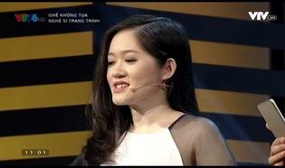 Ghế không tựa: Nghệ sĩ Trang Trịnh