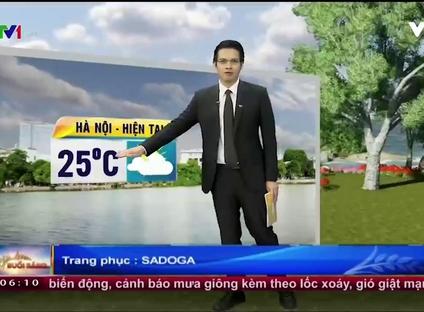 Bản tin thời tiết 6h10 - 01/10/2016