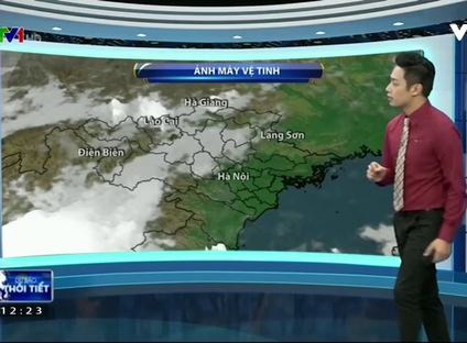 Bản tin thời tiết 12h30 - 24/10/2016