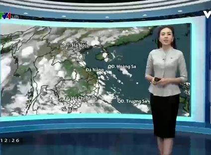 Bản tin thời tiết 12h30 - 25/10/2016