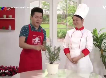 Món ngon mỗi ngày: Sườn nướng lá hương thảo