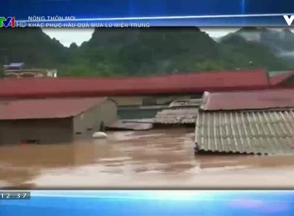 Nông thôn mới: Khắc phục hậu quả mưa lũ miền Trung